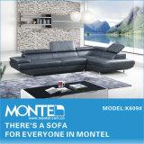 Sofá moderno, sofá de couro, Sofá seccional (K609)