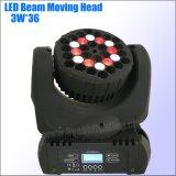 Helles RGBW LED bewegliches Hauptträger-Licht des Stadiums-
