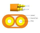 Оптоволоконный кабель связи внутри помещений для изготовителей оборудования с плоским экраном для двусторонней печати без содержания ПВХ/LSZH Sm/мм