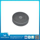 Imán de ferrita de cerámica de permanente disco potente imán de ferrita para altavoz