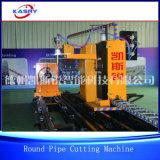 Машина вырезывания и кислородной разделки кромки под сварку CNC газа плазмы изготовления трубы металла 5 осей стальная