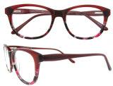 El acetato Eyewear del diseño de Italia de la manera enmarca el marco al por mayor