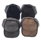 100% Caçador de Nylon Chapéus de peles Man-Made Corduroy