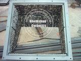 Rivestimento di ceramica delle mattonelle di usura dell'allumina per il carbonile