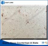 Künstliche Quarz-Polierplatte für Tisch-Oberseite-Gegenoberseite mit Qualität (Marmorfarben)