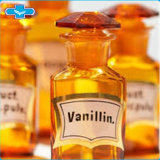 Het Gebruik van het Poeder van de Vanilline van de Aroma's van het Additief voor levensmiddelen in Zoet Voedsel Industrie van het Roomijs en van de Chocolade