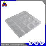 Kundenspezifisches elektronisches Produkt-verpackenkasten-Wegwerfplastiktellersegment