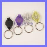 Логос подарка промотирования Keychain микро- СИД Multi электрофонаря цвета миниого светлый (SL-306)