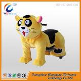 Животное бега автомобилей игрушек младенца Wangdong на колесах для площади