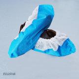 PP+anti-patinage CPE de couvre-chaussures avec film stratifié
