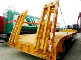 De Semi Aanhangwagen van Lowbed, Semi Aanhangwagen, 2/3/4 Aanhangwagen van het Bed van Assen Lage