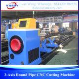 Machine de découpage de commande numérique par ordinateur pour les pipes rondes