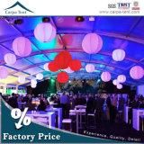 2000 places Fire la preuve de grandes tentes de luxe en PVC de mariage avec le meilleur prix d'usine