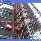 Elevador de la construcción de la aprobación 1ton de la ISO del Ce para los materiales