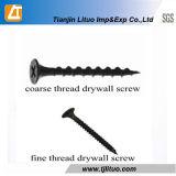 DIN18182 Hot Sale/Filetage fin noir grossier vis à mur sec