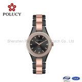 Las pulseras de moda de cerámica de alta calidad Pulseras de Navidad relojes de señoras del regalo