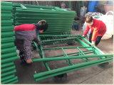 De groene Op zwaar werk berekende Frames van het Stutsel van de Steiger