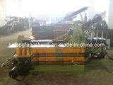 Máquina de enfardamento de hidráulico de metal de metal de resíduos