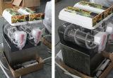 De drievoudige Machine van de Sneeuwbrij van Puppie van Kommen met 3 Tanks