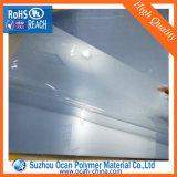Strato spesso 1mm trasparente rigido del PVC per fare pubblicità