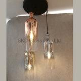 Lamp van de Tegenhanger van het Glas van de eenvoud eindigt de Blazende, Verschillende Kleuren is Aanvaardbaar
