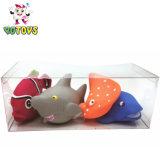 Nouveau cadeau Jouet de la mer de l'océan Animal défini avec boîte de PVC