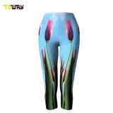 Costume Sublimazione Stampato Fitness Tight Floral Yoga Pants