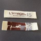 Personalizar 1.5*6.8cm principal de prendas de vestir Etiquetas Etiquetas tejidas etiquetas tejidas