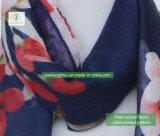 方法女性European Scarf 100% Viscoseのプラントによって印刷されるイスラム教のショール