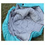 屋外の高品質の大きく青い寝袋の中国の製造業者
