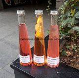 250ml 320ml Long Conicidade geada garrafa de sumo de bebidas de vidro