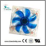 120*25mm 12/24V dos rodamientos de bolas axiales de CC sin escobillas bastidor refrigeración Un ventilador eléctrico H
