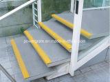 Gran cubierta de la banda de rodadura de la escalera de FRP