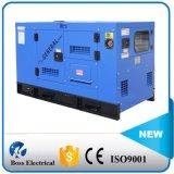 Weifang Engine 디젤 엔진 발전기 세트 디젤 Genset에 의해 강화되는 60Hz 60kw 75kVA Water-Cooling 침묵하는 방음