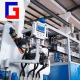 De tweeling Machine van de Uitdrijving van de Schroef Plastic om Blad Te maken
