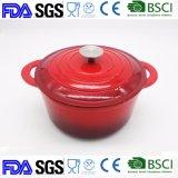 2,7 л чугунные горшочке запаса Pot Dia: 22см BSCI LFGB FDA утвержденных