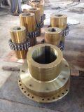 鋼鉄材料およびギヤ構造のスプラインの軸継手