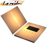 Fabricante Facevideo Personalizar Vídeo LCD no cartão Impressão Folheto Digital para o aniversário do Livro Dom Negócios Convite