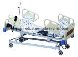 A ICU Electric Medical cama com cinco funções móveis hospitalares (Slv-B4150)