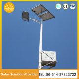 Panel Solar de Alta Eficiencia en el exterior de la luz de la calle