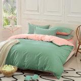 セットされる300t王かクイーンサイズの明白な染められたカラー極度の柔らかい寝具(JRD668)