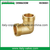 OEM & ODM Qualité Brass Forged Compression Equal Elbow (AV7008)