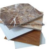 Madera contrachapada laminada papel de la melamina para los muebles