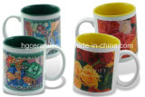 Mug sublimation, 11oz mug sublimation à deux tons