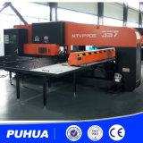 Prensa de sacador mecánica de la máquina del sacador de la torreta del CNC