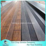 Sitio de bambú pesado tejido hilo al aire libre de bambú 29 del chalet del suelo del Decking