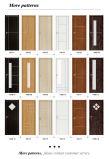 El PVC interior impermeable respetuoso del medio ambiente de WPC cubrió la puerta para el dormitorio del tocador (KM-15)
