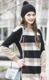Мягкость кашемира узором свитер (1500002052)