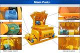 Tipo mezclador concreto eléctrico del montagargas de cangilones de la marca de fábrica Js500 de Truseen en Ghana