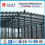 Construção de aço de aço galvanizada da luz do armazém de Struction e de manufatura